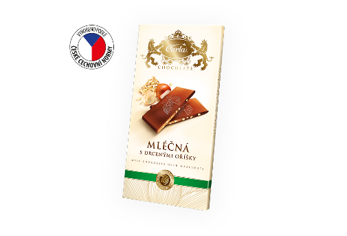 Carla milk chocolate with hazelnuts